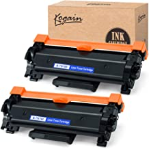 $23 » Kogain Replacement for Brother TN760 TN-760 TN730 Toner Cartridge High Yield 2 Pack,Compatible with Brother HL-L2350DW HL-L2370DWXL MFCL2710DW DCP-L2550DW HL-L2395DW MFC-L2750DW MFC-L2750DWXL Printer