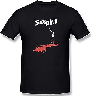 Suspiria T-Shirt Men's Trend Hip Hop Preferred Round Neck T-Shirt