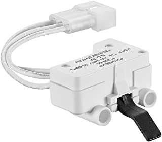 Dryer Door Switch Replacement Fits for Whirlpool Dryer, Maytag & Kenmore Dryer, Replaces 3406107, 3406109