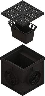 Standartpark - 12x12 Catch Basin with Ductile Cast Iron Grate , Partitions , and Debris Basket.