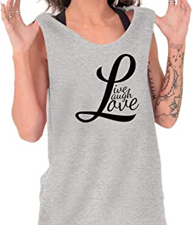Live Laugh Love Inspirational Cute Fashion Tank Top