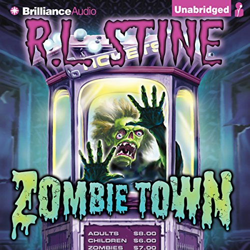 Zombie Town audiobook cover art