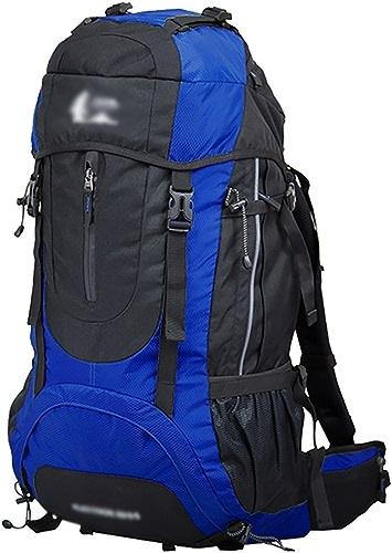 Sac à dos randonnée Camping en plein air 60L randonnée sac hommes et femmes Voyage sac à dos de grande capacité sac d'alpinisme (taille  36  26  70cm) Sacs à dos de randonnée ( Couleur   F )