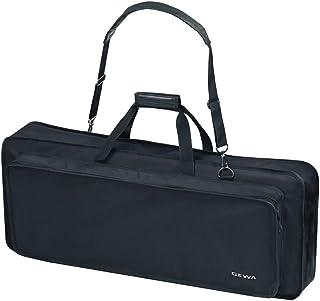 Keyboard Gig Bag Basic, 85x32x10 cm, music sheet pocket on the lid, black, tear- and waterproof