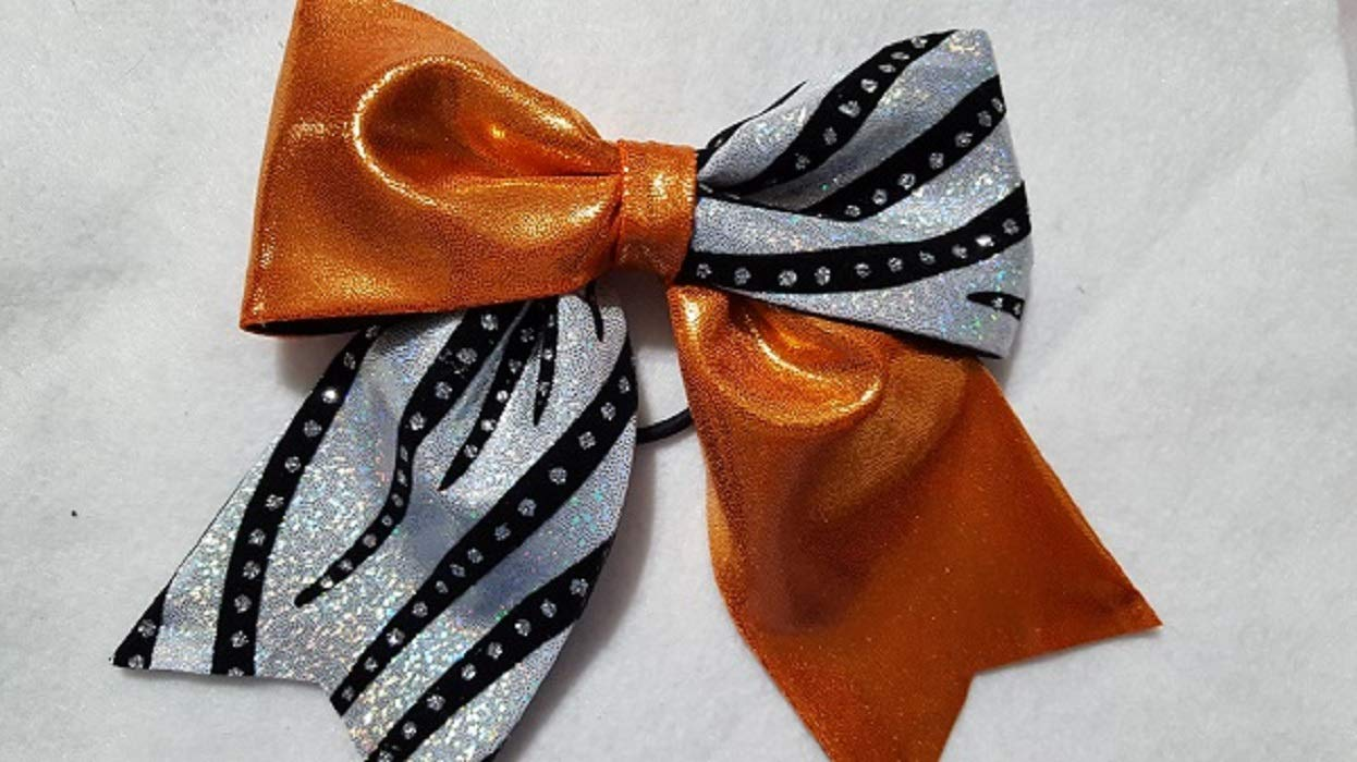 Orange Silver Hairbow Discount mail order Super-cheap and