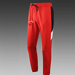 Miami Heat Appearances Open Buckle Pants Raining Pants Breasted Running Sports Casual Pants,L