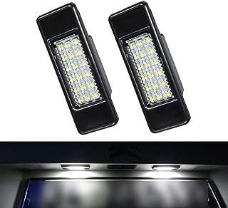2pcs YUGUIYUN Auto LED Kennzeichenbeleuchtung Nummernschildbeleuchtung Bright Wei/ß Lampen Leuchtmittel f/ür P-eugeot 106 1007 207 307 308 3008 406 407 508 806 for C-ITROEN C2 C3 C4 C5 C6 DS3