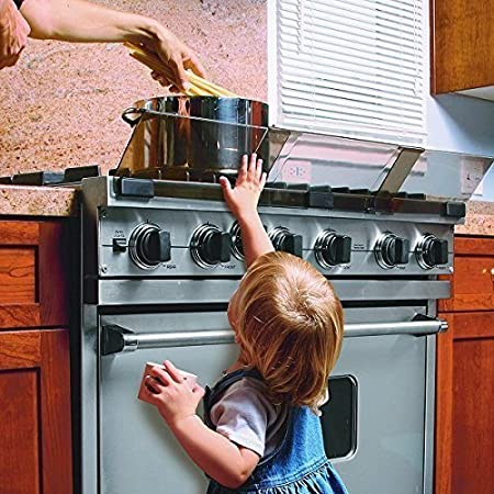 COLIBROX Adjustable Stove Safety Guard