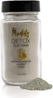 Muddy Body - Detox Clay Face Mask | Packed with Nine Natural, Skin-Nourishing Ingredients Dead Sea Clay - Hydrating, Tonin...