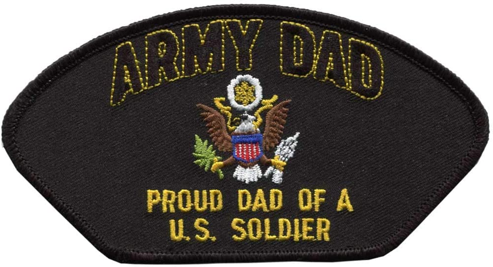 US Army Dad Manufacturer 4 years warranty direct delivery Patch Large