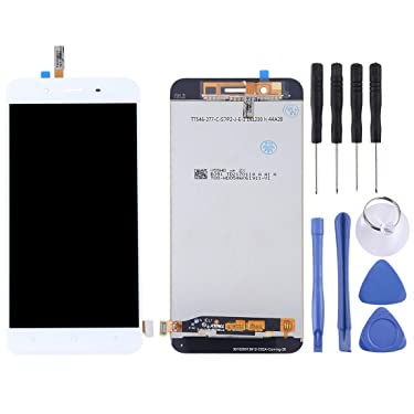 Zhangl Mobile Phone LCD Screen LCD Screen and Digitizer Full Assembly for Vivo Y66(Black) LCD Screen (Color : White)