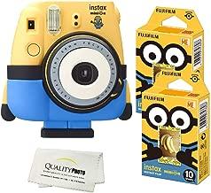 Fujifilm Minion Camera + Fuji Minion Films + Quality Photo Microfiber Cloth
