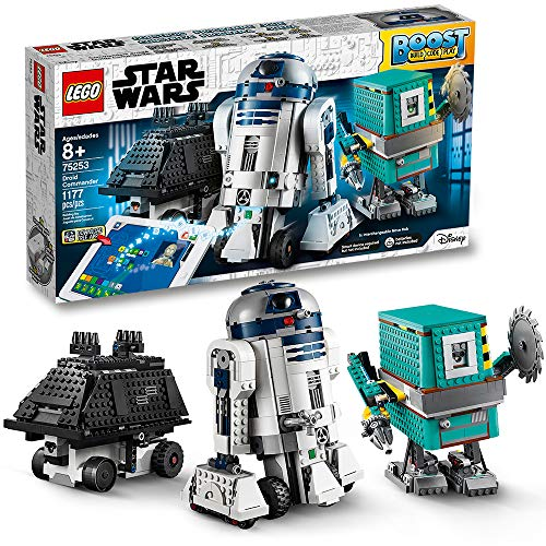 LEGO Star Wars Boost Droid Commander 75253 Star Wars Droid Building Set with R2-D2