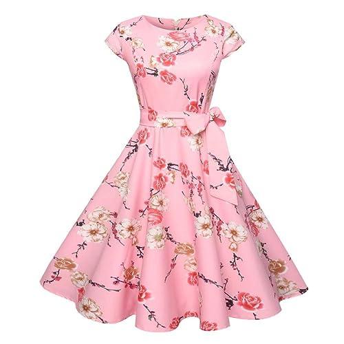 23faca2675e Pingtr 2019 Latest Style Swing Dress - Xmas Gift