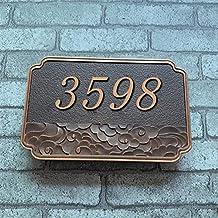 Gepersonaliseerde Huis Borden Plaques Deurnummers Naam Plaat Vintage House Numbers Signs Borden Elke Letter Hotel Symbolen...