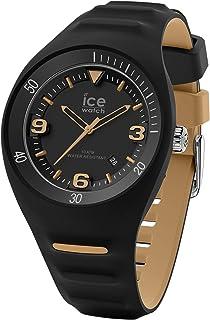 Ice-Watch - P Leclercq Black Beige - Montre Noire pour Homme avec Bracelet en Silicone - 018947 (Medium)