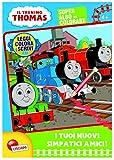 Il trenino Thomas. Albo da colorare. I tuoi nuovi simpatici amici