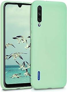 kwmobile telefoonhoesje compatibel met Xiaomi Mi A3 / CC9e - Hoesje voor smartphone - Back cover in mat mintgroen