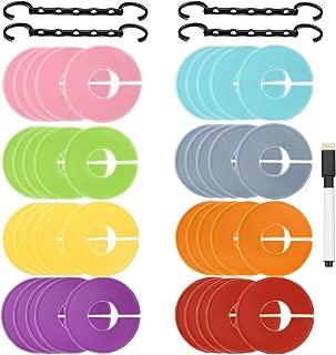 Conjunto de 30 piez by Ropa Conector de suspensi/ón ahorradora de Espacio para el Armario Prendas de Vestir ArturoLudwig 30x Ganchos para Colgar Ropa Chaquetas