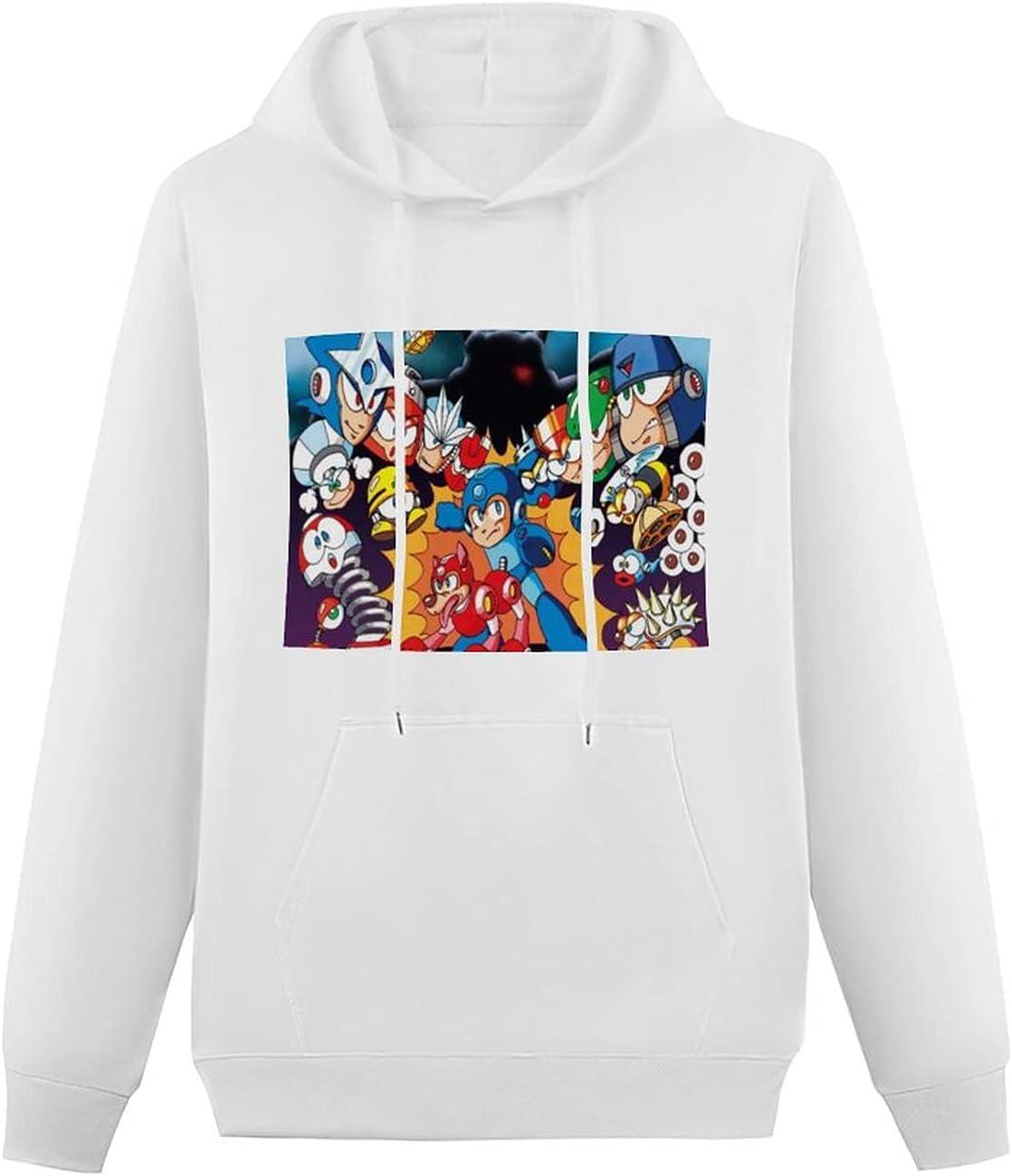 Centiza Mega-Man store Mega Man Boys New arrival and Swe Hoodie Girls Hooded Teens