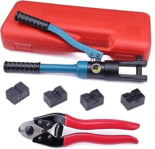 Muzata Custom Hydraulic Hand Crimper Tool for 1/8