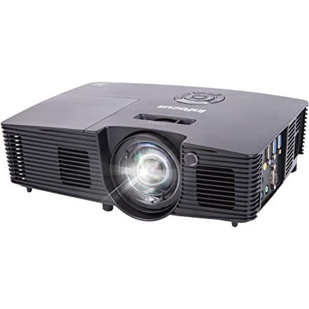 Infocus In112xa Svga 4 3 3d Dlp Projektor Beamer 2x Hdmi 3600 Ansi Lumen 18000 1 Kontrast 15000 Stunden Lampen Brilliantcolor Heimkino Tv Video