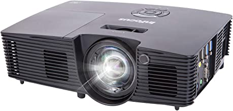 InFocus IN112XA Projector, DLP SVGA 3800 Lumens 3D Ready 2HDMI with Speakers