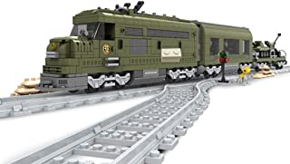 12che 764 Stücke Baustein Zug Modell Spielzeug Zug Kinder Z