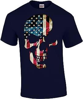 Skull T-Shirt Americana Skull