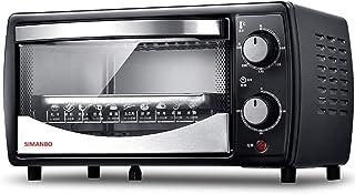 KAUTO Mini Four 12L, avec rôtissoire 30 Minutes de synchronisation Tube supérieur et inférieur Dissipation Thermique Desig...