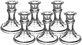 Southern Homewares 6-Pack Candlestick Glass Stem for Redneck Wine Glass, 4-Inch