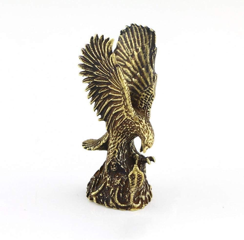 Cheap SALE Start SUPERHUA OFFicial Antique Copper Eagle Statue Vintage Small Bra Ornaments