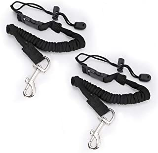 featured product Hipiwe Flexible Kayak Paddle Board Leashes,Stretchable Boat Fishing Safety Rod Paddle Leash Surfboard Rope Lanyard with Hook for Kayaking Canoe SUP Board Paddles,Pack of 2