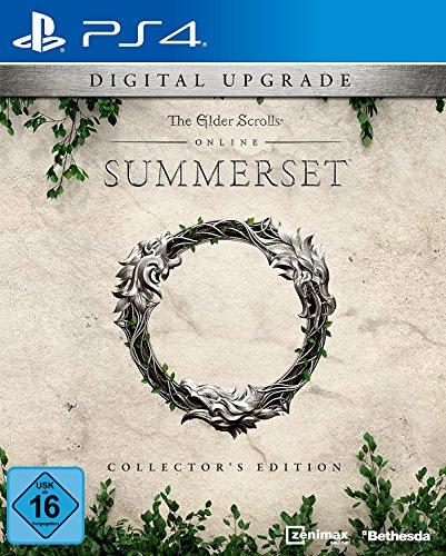The Elder Scrolls Online: Summerset - CE Upgrade DLC   PS4 Download Code