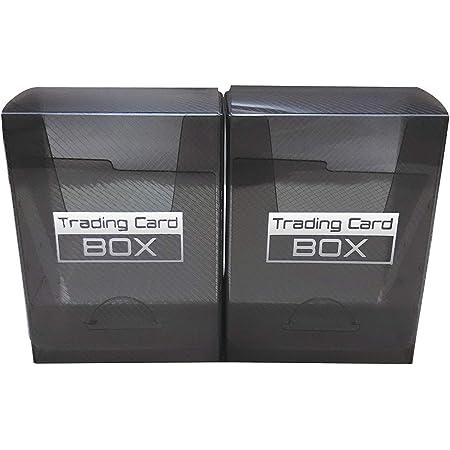 TCG トレーディングカード デッキケース 2個セット クリアブラック