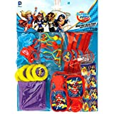 Amscan DC Super Hero Girls Value Pack Party Favors