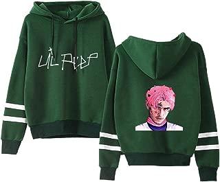 BESTHOO Lil PEEP Pullover Sweatshirt Hooded Pullover Comfortable Long Sleeve Tops Loose Imprint Sweater Unisex