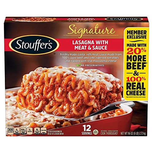 Evaxo Signature Lasagna with Meat and Sauce (96 oz.)