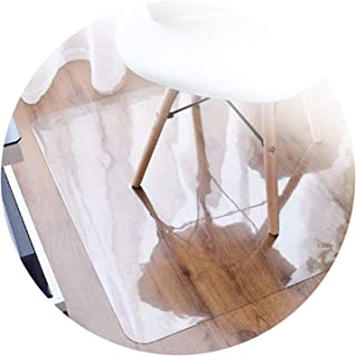 Transparent PVC Chair Mat For Hard Floors Used for Home Office Carpet Protector Desk Pad Protector Chair Mat, Customizable...