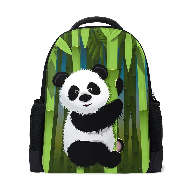 アーサーコナンドイル結紮切るAOMOKI バッグ リュックサック 男女兼用 メンズ レディース 通勤 通学 大容量 パンダ 可愛い 竹