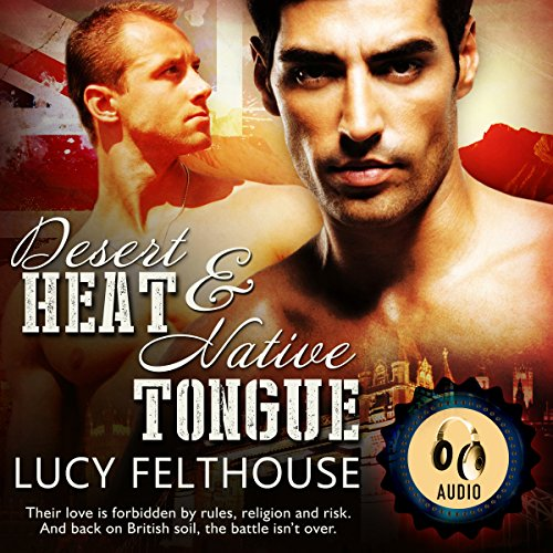 Desert Heat & Native Tongue audiobook cover art