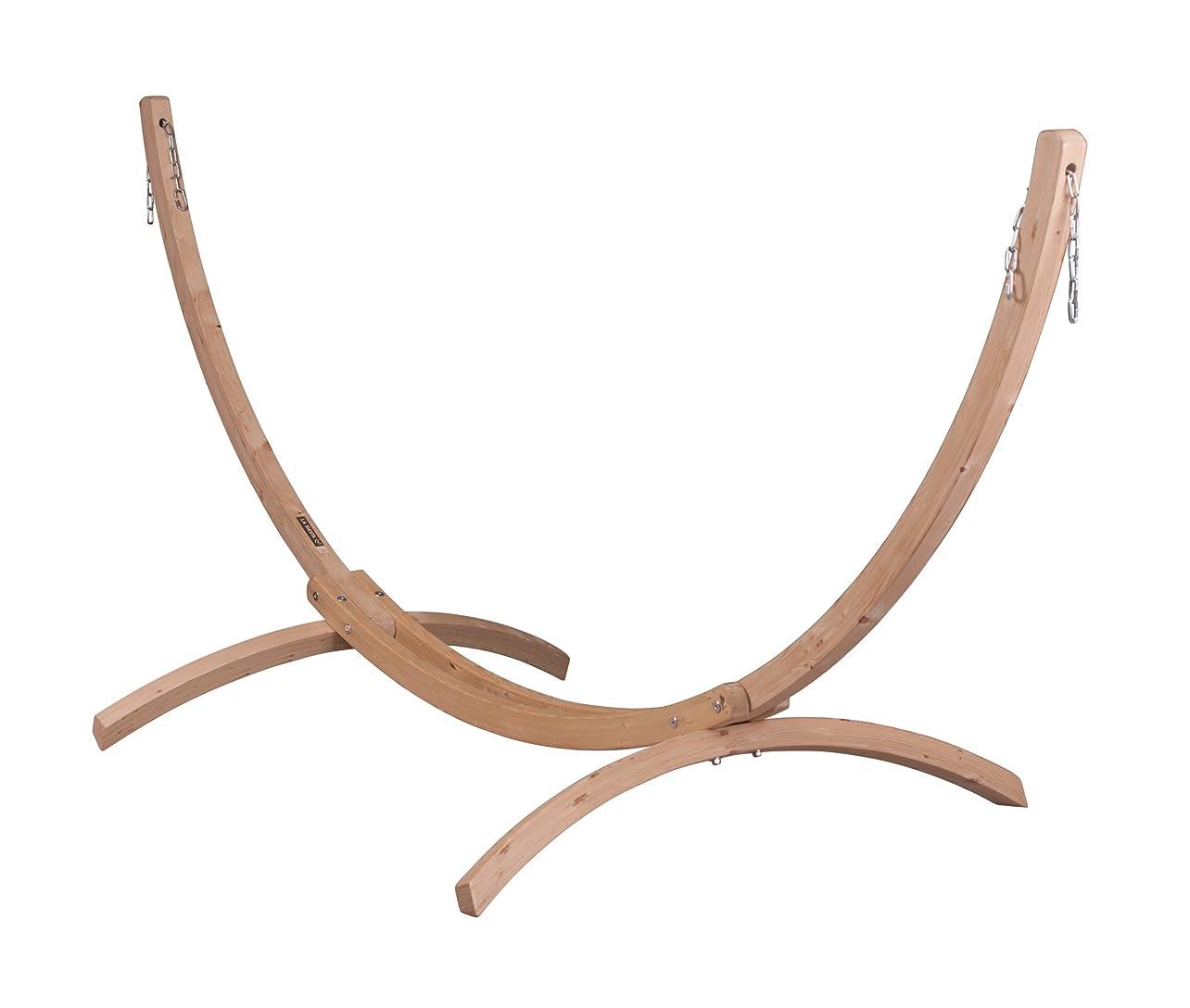ステーキ死取り消すLA SIESTA(ラ シエスタ) シングルハンモック用スタンド (木製)  CANOA