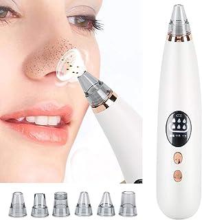 Blackhead Remover Pore Cleaner Vacuum Sucker, 6-in-1 Blackhead Sucker Pore Cleaner, Pimple Remover Set met 6 verwisselbare...