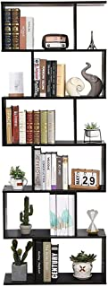 Etnicart – estantería de estantería diseño contemporáneo para Oficina y hogar de Madera MDF A día – 70 x 23.5 x 190 cm. 60...