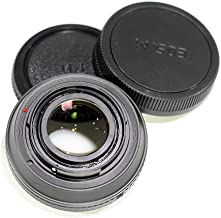 Pixco Lens Adapter Focusing Infinity Focal Reducer Speed Booster with Optical Glass for Canon FD Lens to EOS M M50 M6 M5 M10 M3 M2 Adapter Ring