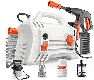Electric Pressure Washer Car Washing Machine 1400W Home Portable car Washing Artifact Automatic high-Power high-Pressure W...