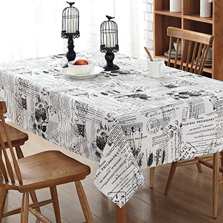 VLIMG Tischdecken , Pastorale Baumwolle Tisch Couchtisch Tischdecke Staub Tuch, Blaumen und Poststempel, 120  160 cm B07B2XLSGN Lass unsere Waren in die Welt gehen | Hervorragende Eigenschaften