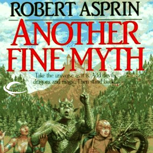 Another Fine Myth audiobook cover art