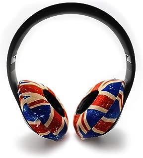 EarHugz Sweat Protecting Washable Headphone Covers - Protect All Headphones - Makeup Resistant - Gym Workout, Gamer, DJ Headphones (Regular)