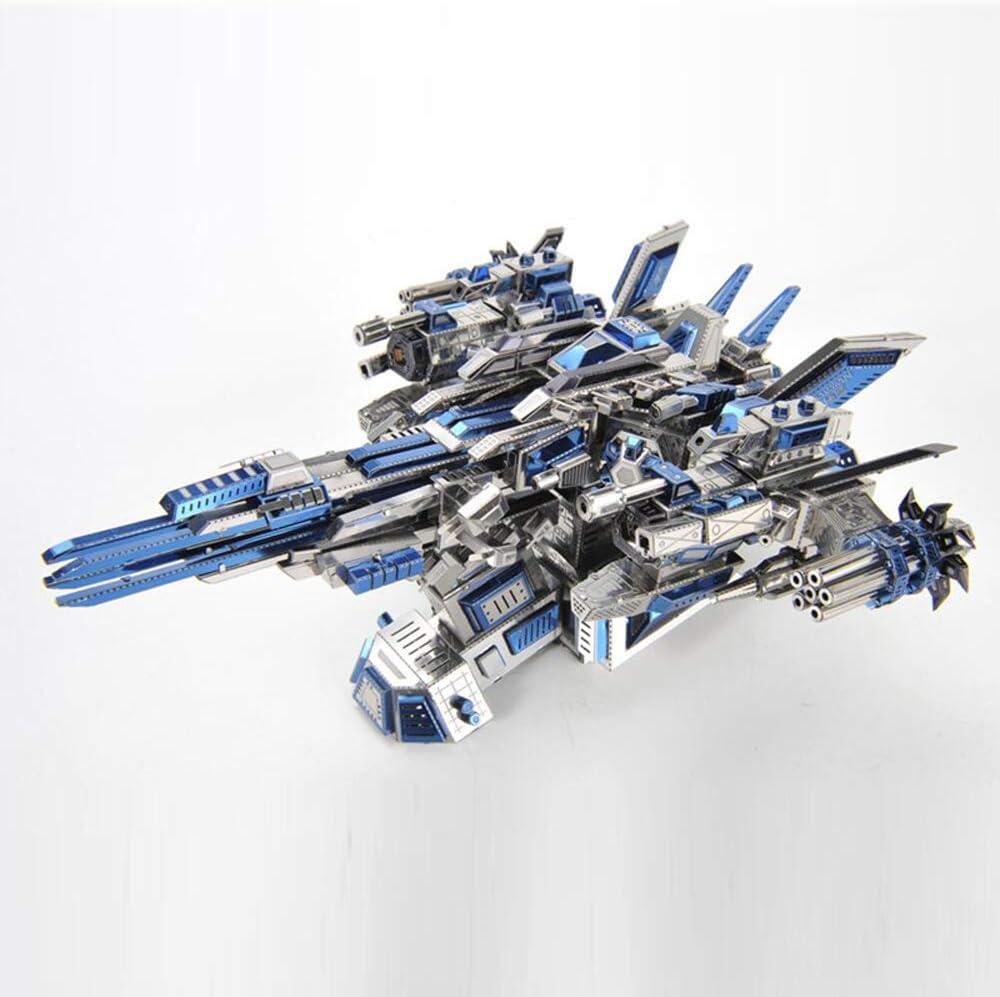 Microworld 3D Metal Puzzle Mechanical Import Spacecraft 1 store DIY Pilot Ass